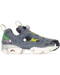 Reebok X Tom And Jerry Gray Instapump Fury Og Sneakers