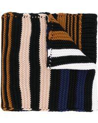 Sonia Rykiel - Striped Colour-block Scarf - Lyst
