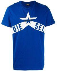DIESEL - T-diego-a7 Tシャツ - Lyst
