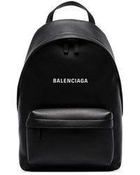 Balenciaga - ロゴ レザーバックパック - Lyst