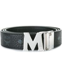 MCM モノグラム柄 ベルト - マルチカラー
