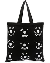 10 Corso Como Graphic-print Tote Bag - Black