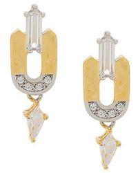 V Jewellery - Leandra Earrings - Lyst