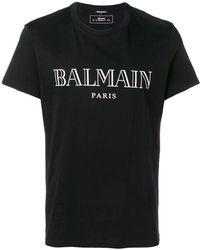 Balmain - Logo T-shirt - Lyst