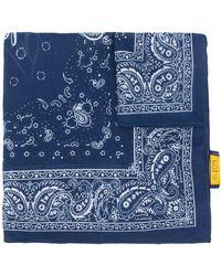 Polo Ralph Lauren ペイズリー スカーフ - ブルー