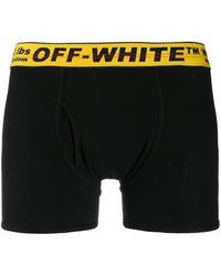 Off-White c/o Virgil Abloh Jersey-Shorts - Schwarz
