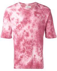 Laneus Tie Dye T-shirt - Pink