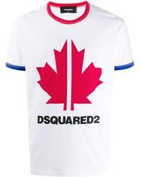 DSquared² Logo T-shirt - White
