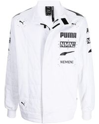 PUMA X Nemen レーシングジャケット - ホワイト