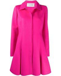 Valentino Ausgestellter Mantel - Pink