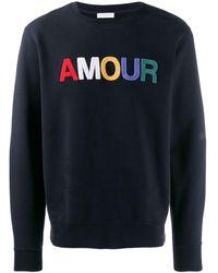 Sandro Amour スウェットシャツ - ブルー
