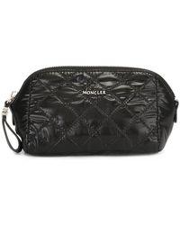 Moncler - Quilted Make-up Bag - Lyst