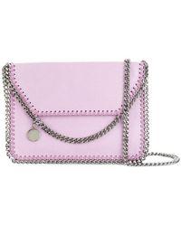 Stella McCartney | Falabella Foldover Shoulder Bag | Lyst