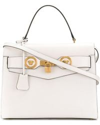 Versace Medusa studded tote - White YIftmBe9l2