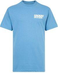 Stadium Goods Big Tilt T-shirt - Blue