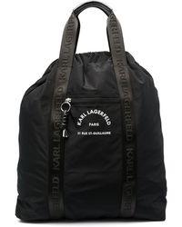 Karl Lagerfeld Rue St. Guillaume ハンドバッグ マキシ - ブラック
