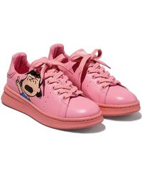 Marc Jacobs X Peanuts Tennis Shoe - Pink