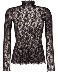 Wolford Stretch Pullover - Zwart