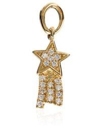 Loquet London - 18kt Yellow Gold Talisman Star Charm - Lyst