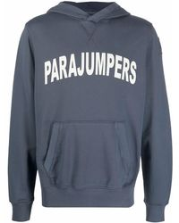 Parajumpers ロゴ パーカー - ブルー