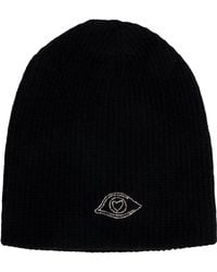 Warm-me - Classic Knitted Beanie Hat - Lyst