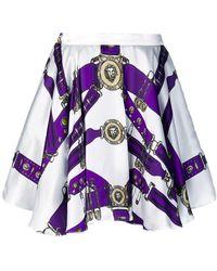 Versus - Heritage Print Skirt - Lyst