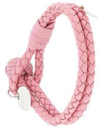 Bottega Veneta | Intrecciato Knot Bracelet | Lyst