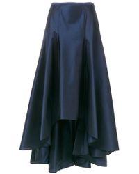 Blumarine | High Low A-line Maxi Skirt | Lyst