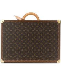 Louis Vuitton 'Bisten 55 Attache' Koffer - Braun