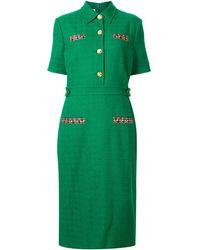 Gucci - ツイード ドレス - Lyst