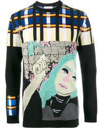 JW Anderson - Puzzle Graphic Jumper - Lyst