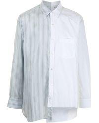 Lanvin ボタンシャツ - ブルー