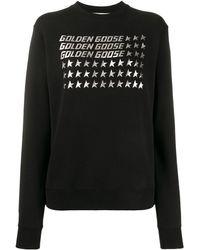 Golden Goose Deluxe Brand ロゴ スウェットシャツ - ブラック