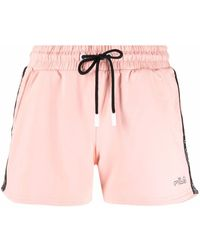 Fila Logo-tape Shorts - ピンク