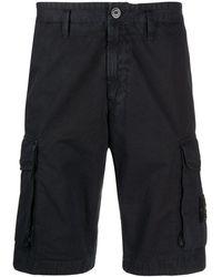 Stone Island Cargo Shorts - Blauw