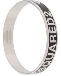 DSquared² Logo Bracelet - Black
