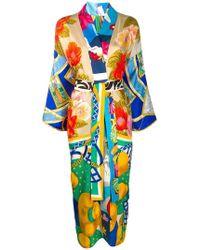 Rianna + Nina - Платье-кимоно С Запахом - Lyst