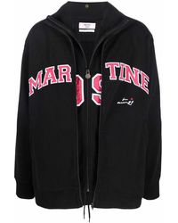Martine Rose ロゴ トラックジャケット - ブラック