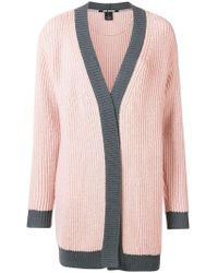 Pinko - Embellished Colour Block Cardigan - Lyst