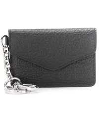 Maison Margiela Envelope Keyring Wallet - Black