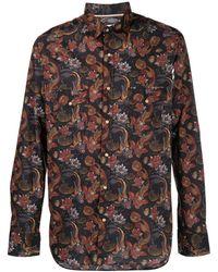 Tintoria Mattei 954 - Floral-print Cotton Shirt - Lyst