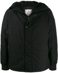 Woolrich フーデッド パデッドジャケット - ブラック