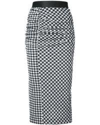 Rachel Comey - Checked Twist Skirt - Lyst