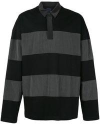 Juun.J - オーバーサイズ ストライプ ポロシャツ - Lyst