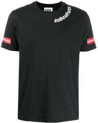 Les Hommes Subcultures Tシャツ - ブラック