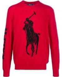 Polo Ralph Lauren Big Pony セーター - レッド