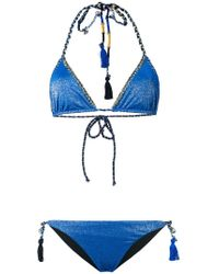 Anjuna - Denise Metallic Finish Bikini - Lyst