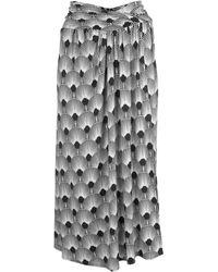 Paco Rabanne - ストレッチジャージースカート - Lyst