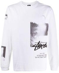 Stussy X Mmv プリント Tシャツ - ホワイト