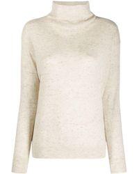 Agnona タートルネック セーター - ナチュラル